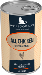 WOLFOOD WET FOOD ALL CHICKEN CATS